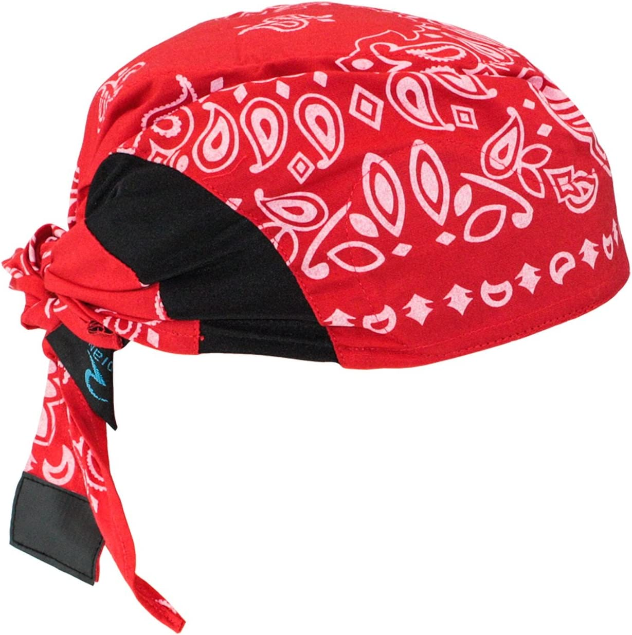 Radians RCS307 Arctic Skull Cooling Headshade, Red Paisley