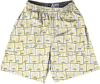Tribe Rhode Island State Party Flags Lacrosse Shorts