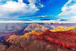 Mather Point Grand Canyon National Park Arizona Photo Cool Wall Decor Art Print Poster 36x24