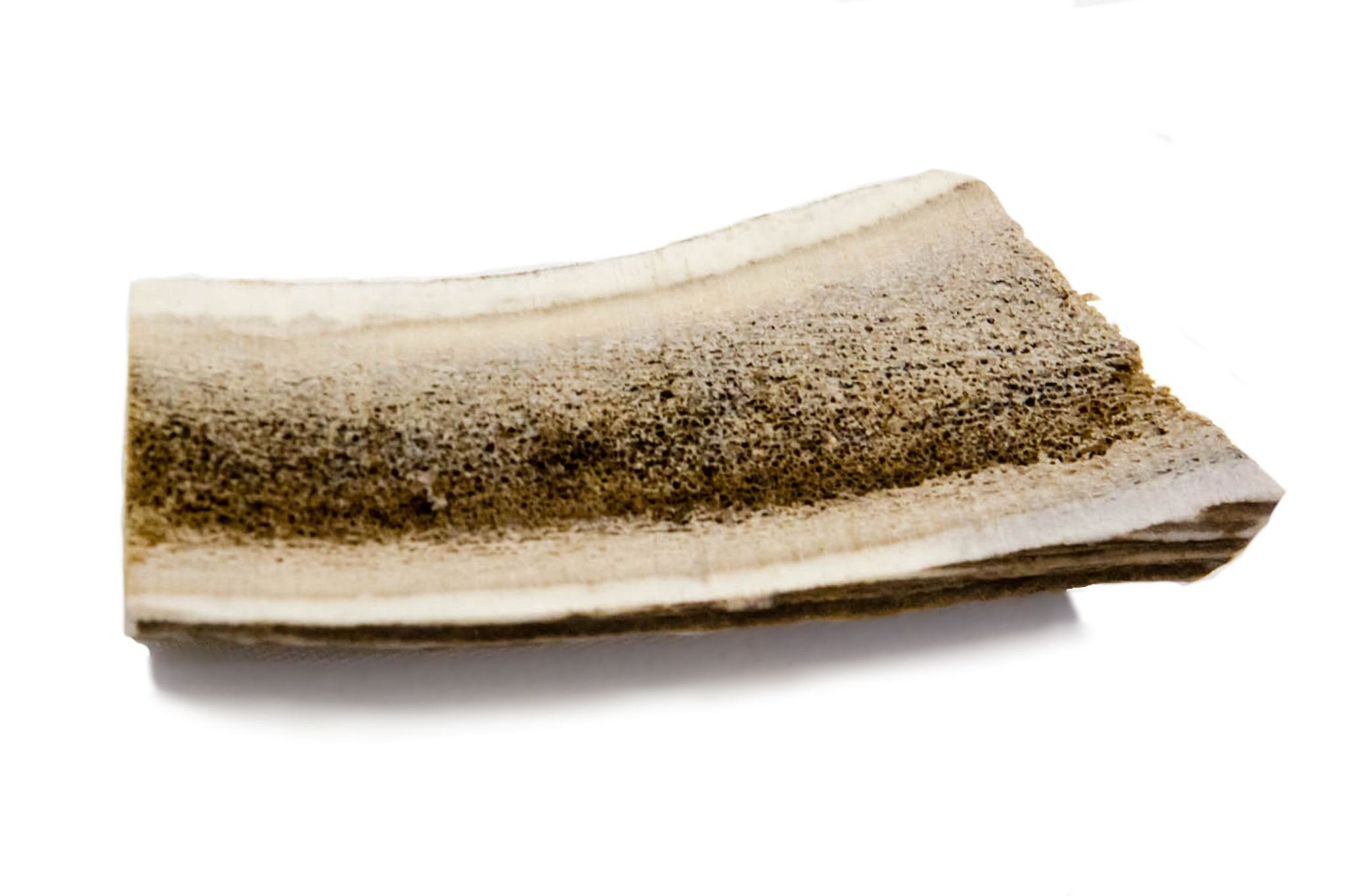 Deer And Elk Antlers For Dogs, Antler Dog Chew, 5-6 Inches All Natural Dog Chew Toy (Medium Split)