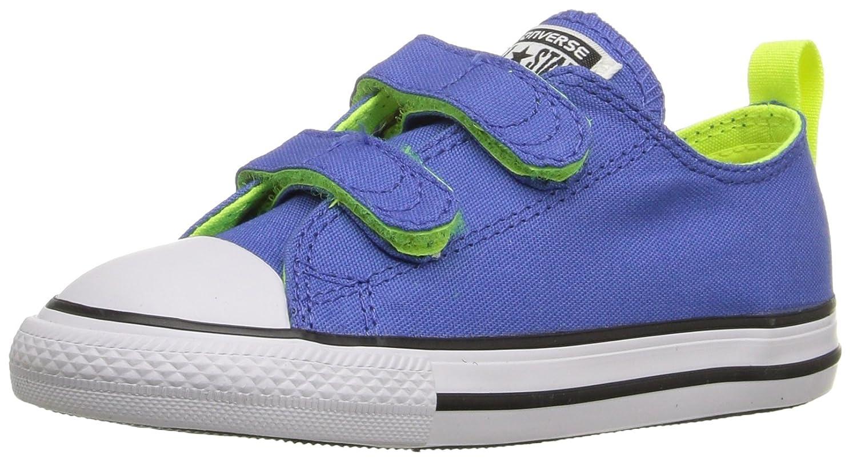 Converse Chuck Taylor All Star Season OX, Unisex Sneaker  5 M US Toddler|Oxygen Blue/Volt/White