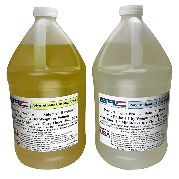 Color-Pro Casting Resin (2 Gallons)
