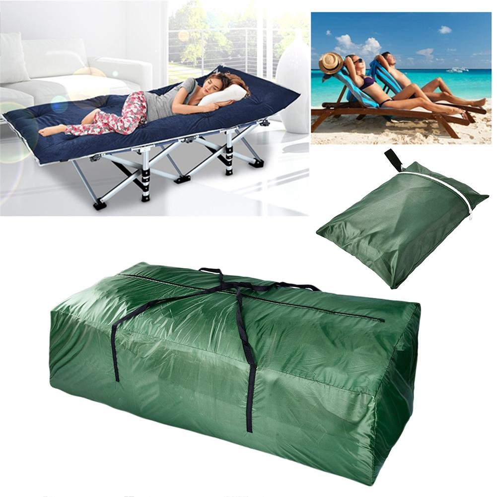 Bulary Large Capacity Strong Storage Bag Outdoor Furniture Cushions Storage Bag Waterproof Sturdy Organizer Bags for Bedding, Duvets, Pillows, Clothes or Moving Home