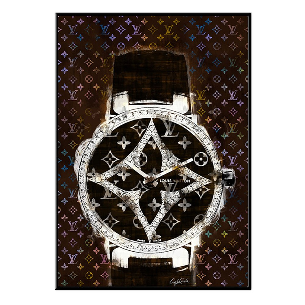 Craig Garcia ルイヴィトン no time limit アルミフレームポスターセット A1 A2サイズ (A2, ntl03) B01MT80JHK A2|ntl03 ntl03 A2