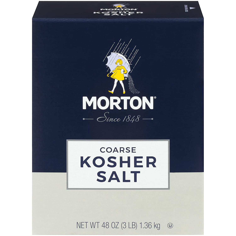 Morton Kosher Salt, Coarse, 48 Ounce : Grocery & Gourmet Food
