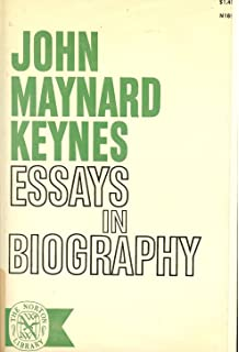 essays in biography amazon co uk john nard keynes  essays in biography new ed the norton library