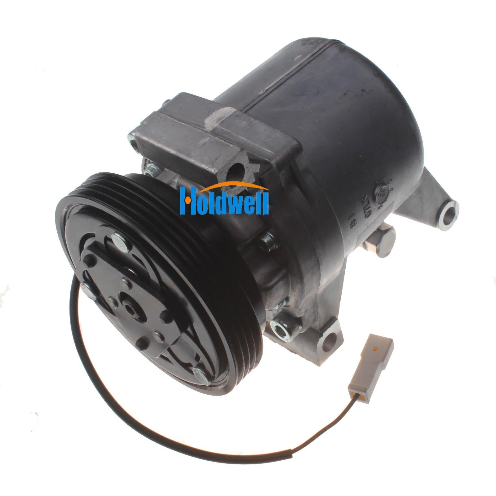 Holdwell Auto AC Compressor 95201-77GB2 9520177GB2 for Suzuki Jimny Seiko Seiki SS07LK10 by Holdwell (Image #8)