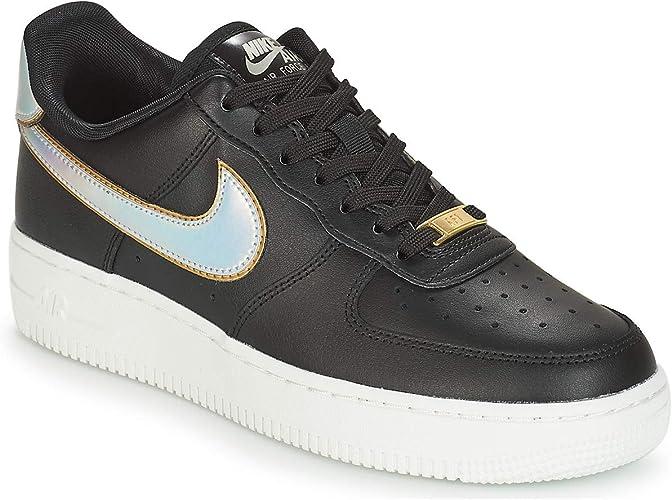 Chaussures de Gymnastique Femme Nike WMNS Air Force 1 07 Basket ...