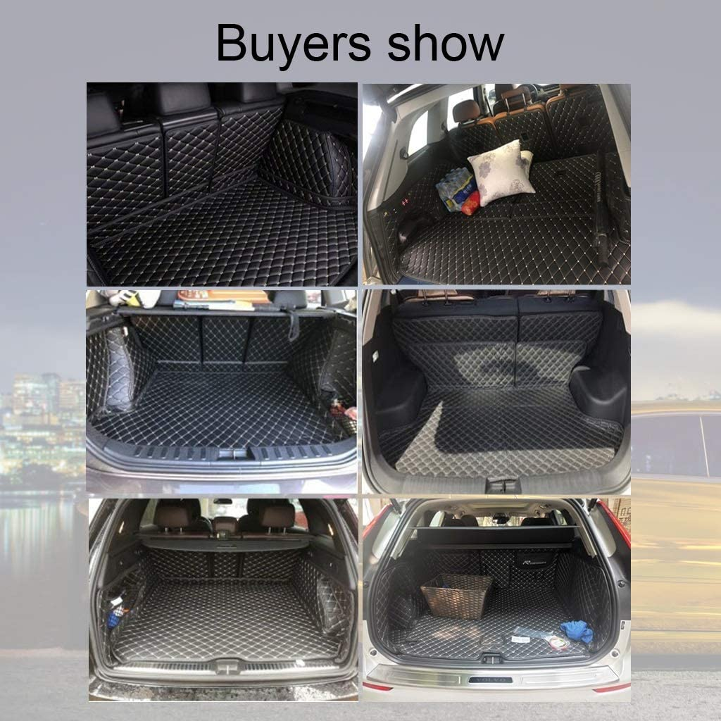 Tapis De Coffre Bac De Protection Antiderapant Compatible Avec BMW X6 Antid/érapant Anti-rayures Tapis De Coffre De Voiture Tapis De Voiture Coffre Duster Tapis Tout Inclus Anti-rayures