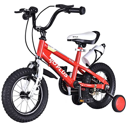 Rubber 1 Pair Kids Bicycle Wheel Training Wheels Without Holders Steel Plastic