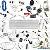 Electronics Project spares with breadboard, 30 circuits eBook CD + videos