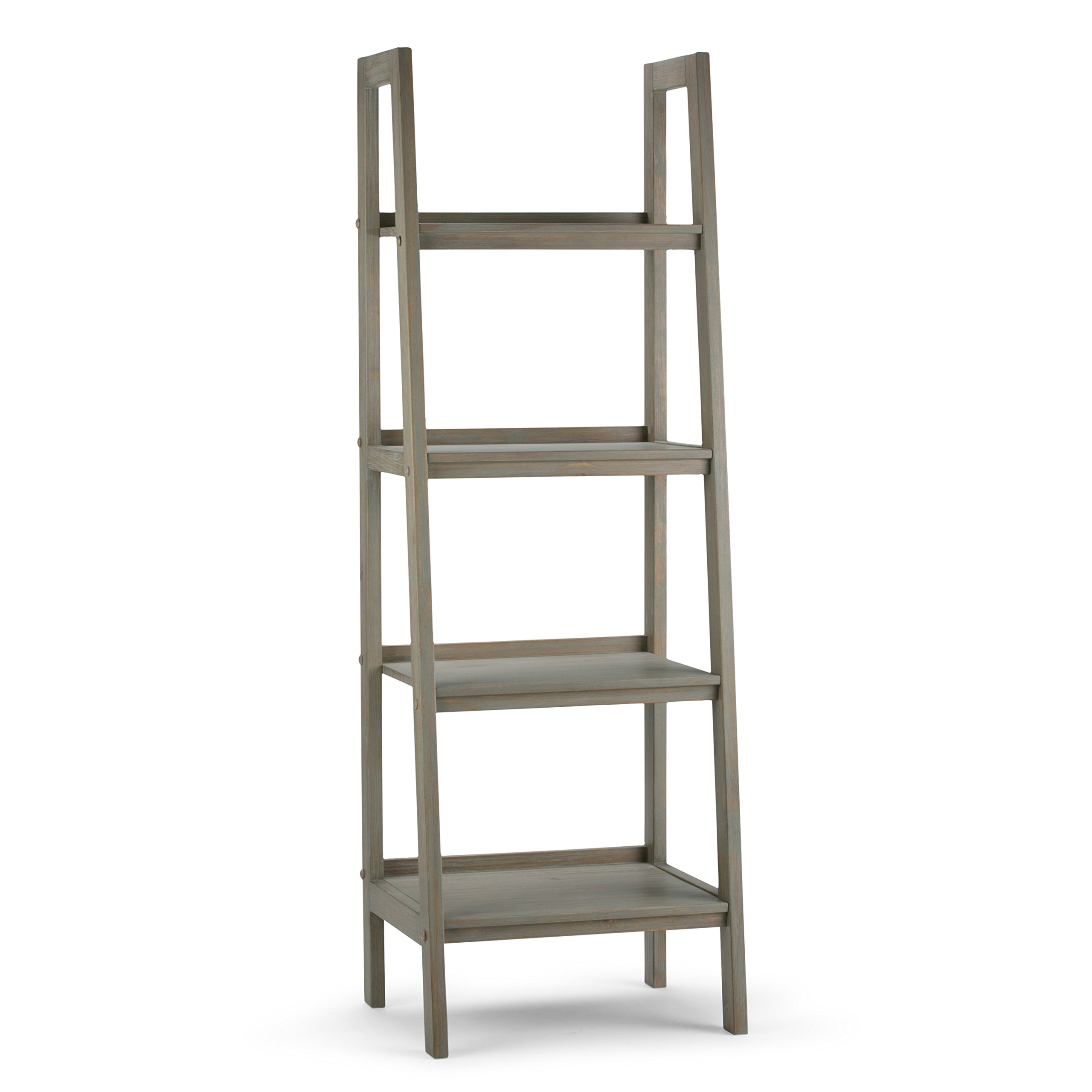 furniture x accents shelf t home a rustic bookcase ikea bookcases size ashley leaning small step espresso storage ladder