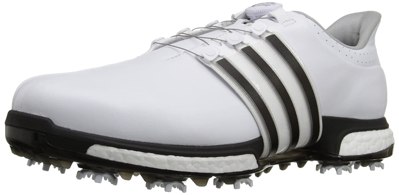 adidas Golf Men's Tour360 Boa Boost Spiked Shoe B013US6EJE 11 D(M) US Ftwr White/Core Black/Dark Silver Metallics05