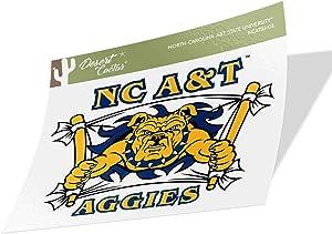 North Carolina A & T State University HBCU Aggies Vinyl Decal Laptop Water Bottle Car Scrapbook (Sticker - 03)