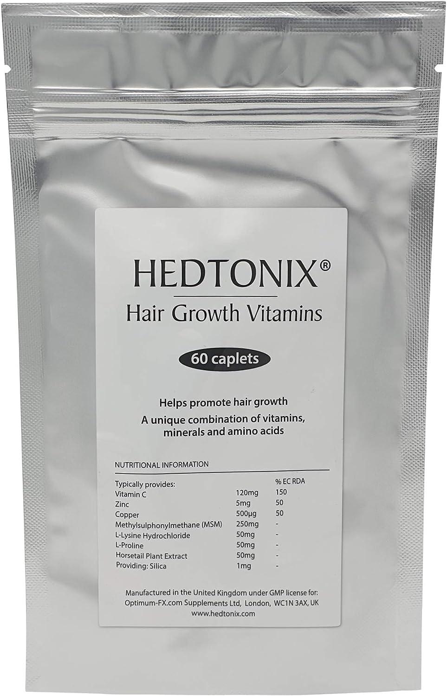 Cápsulas Hedtonix Suplemento Vitamínico Para El Crecimiento Del cabello – Cápsulas Para Hombre y Mujer – 60 Cápsulas