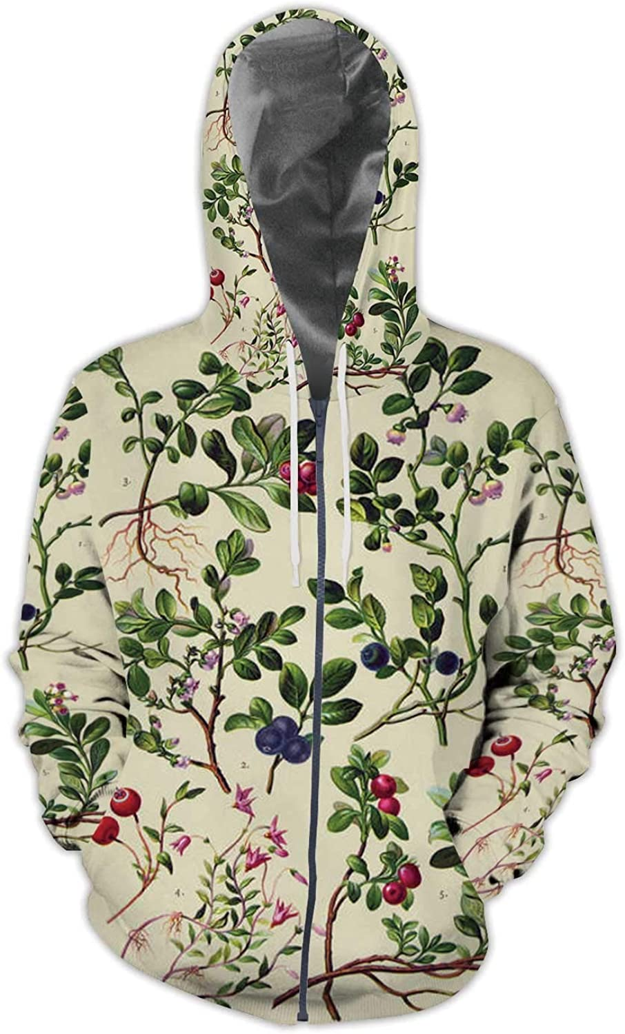 Flying Seagull /— Free as a Bird,Men//Womens Warm Outerwear Jackets and Hoodies S