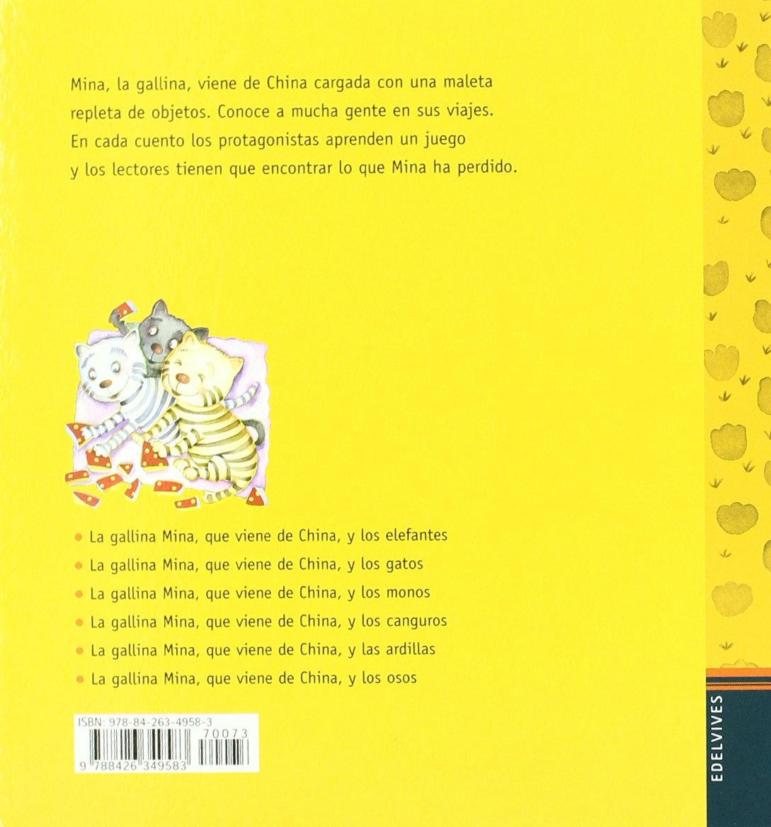 La gallina Mina que viene de China y los gatos: Mercè Arànega: 9788426349583: Amazon.com: Books
