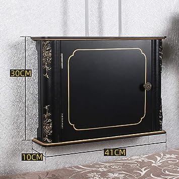 Los estantes flotantes Organizador de cables Box   Wi-FI Línea de clasificación caja de pared Caja de almacenamiento  Ocultar y ocultar bloques de extensión y cables eléctricos estante de almacenamien: Amazon.es: Electrónica
