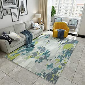 velocidad Rug Art Sofa Carpet Nordic Style Drawing Room Rectangle Bedchamber Bedside RugB-180 x 280 cm