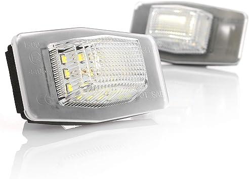 Led Kennzeichenbeleuchtung Mit Zulassung Canbus Plug Play V 030714 Auto
