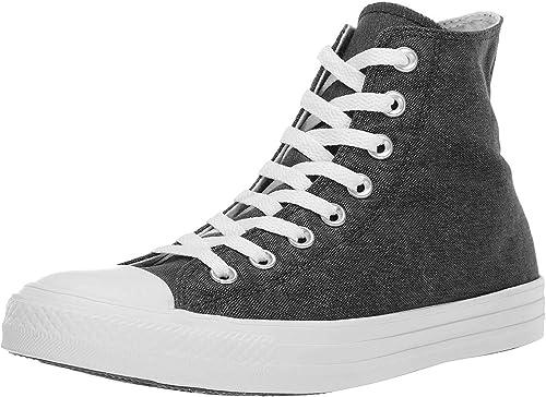 Converse Chuck Taylor CTAS Hi Canvas, Chaussures de Fitness Mixte Enfant