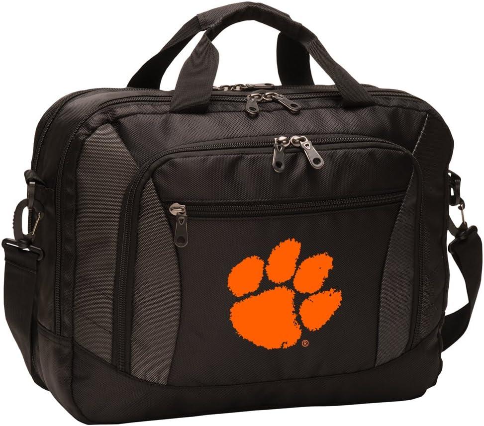 Broad Bay Clemson University Laptop Bag Best NCAA Clemson Tigers Computer Bags