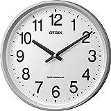 シチズン 電波 掛け時計 アナログ サークルポート 見やすい オフィス タイプ 白 CITIZEN 4MYA24-019