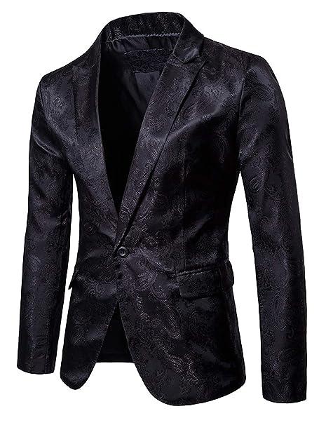Amazon.com: DGMJ XZ061 - Vestido para hombre, diseño floral ...