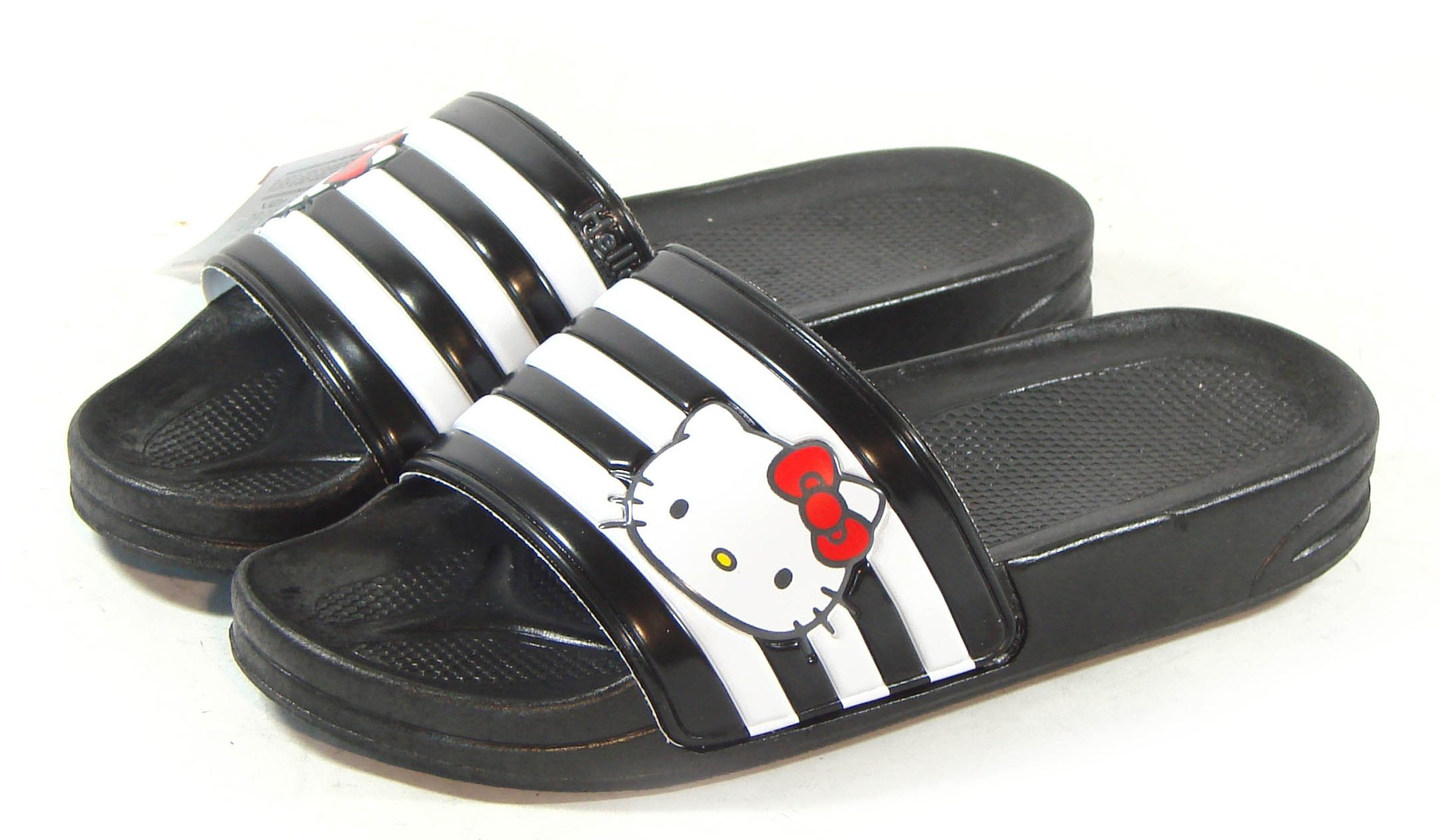 Hello Kitty LALA New Womens Lovely Slippers Shoes Black US size 7