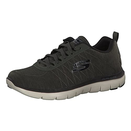 Details about Shoes Skechers Flex Advantage 2.0 Chillston Grey Men