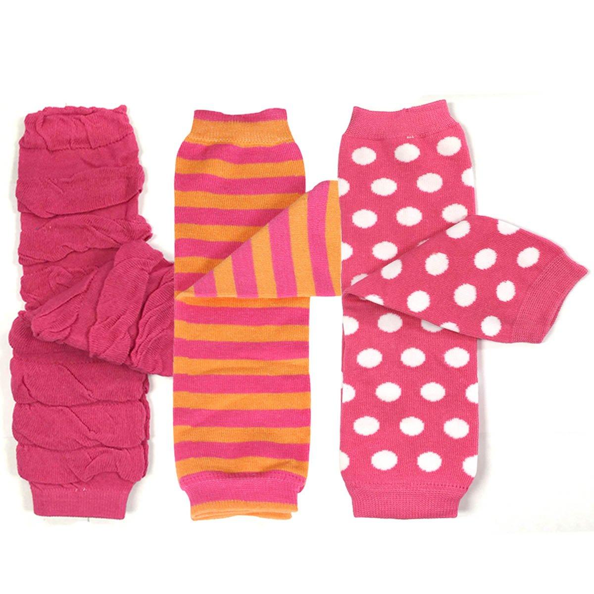 Bowbear Baby 3-Pair Leg Warmers