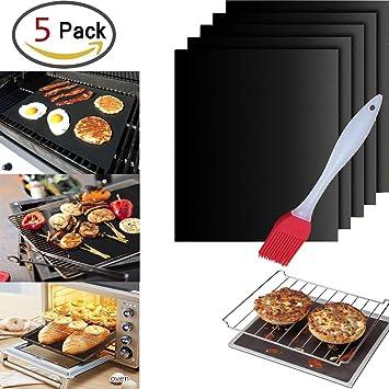 Barbacoa MAT, Tostadora microondas horno maletero – para horno Pizza eholder Juego de 5 +