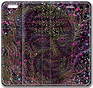 """Abstract Artistic Psychedelic Leather Cover for iPhone 6 Plus(5.5"""")"""