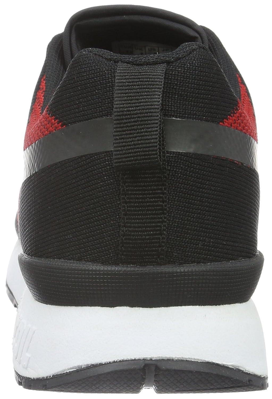 KangaROOS Unisex-Erwachsene Omnicoil Woven Niedrig-Top 560) Mehrfarbig (schwarz/Flame ROT 560) Niedrig-Top 94e0b6