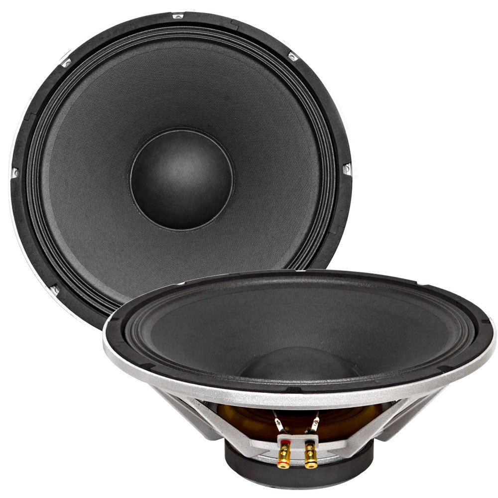 SEISMIC AUDIO - Richter 12 (Pair) - 12'' PA/DJ Raw Replacement Woofer or Speaker 500 Watts each