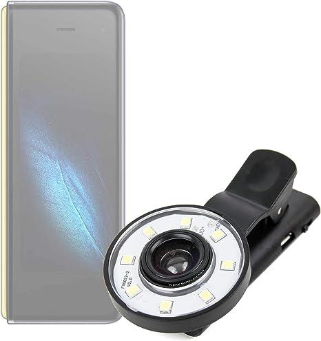 DURAGADGET Flash Selfie Compatible con Smartphone Samsung Galaxy ...