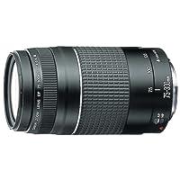 Canon Advanced VX Camera Ef 75mm-300mm Telephoto Zoom Lens, Black (6473A003)