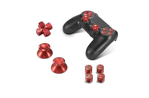 13 opinioni per Supremery Playstation 4 DualShock 4 pulsanti in alluminio Cappelli Thumbsticks