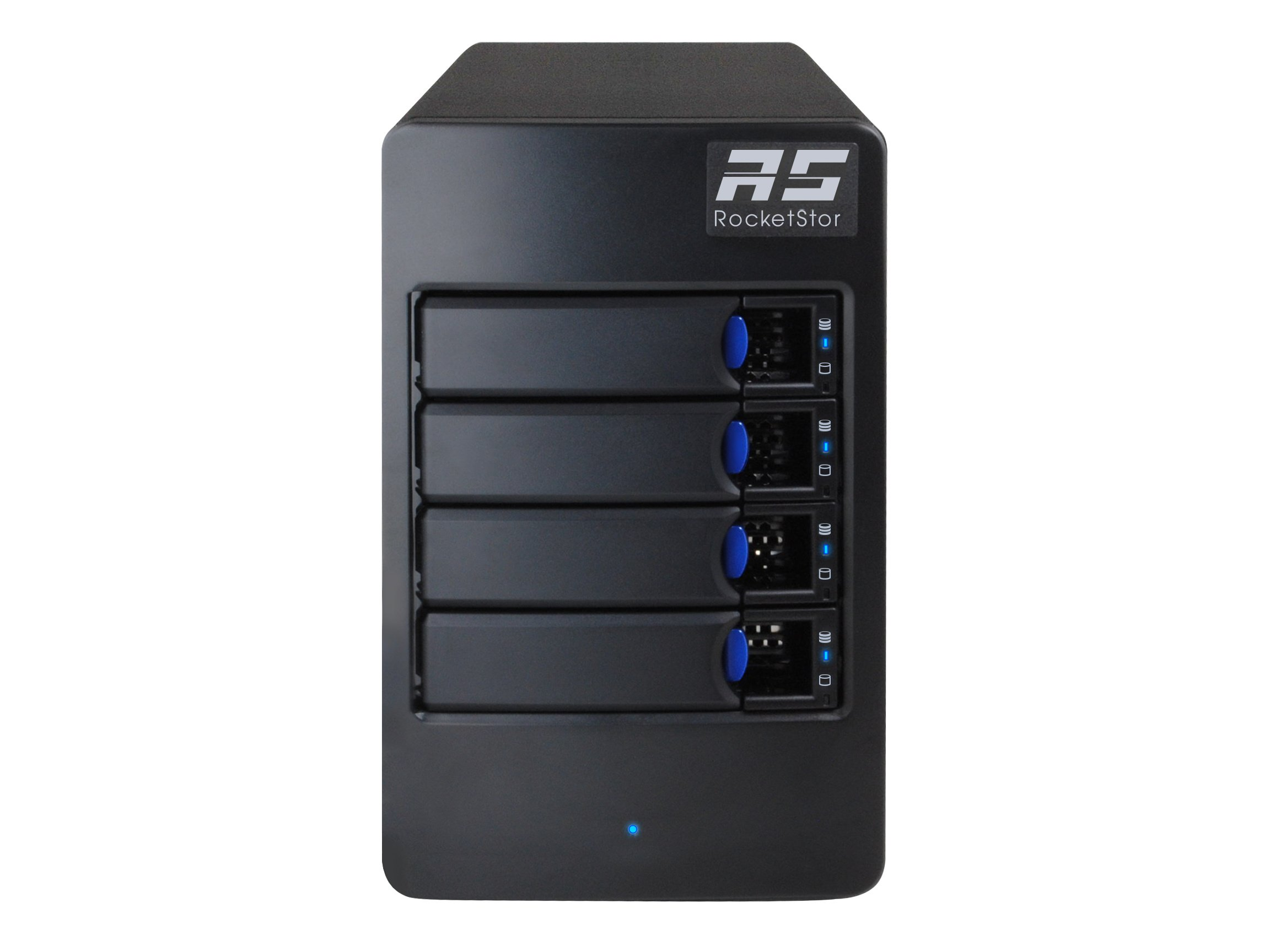 HighPoint RocketStor 6114V 4-Bay Raid 5 USB 3.1 Gen 2 Storage Enclosure by High Point