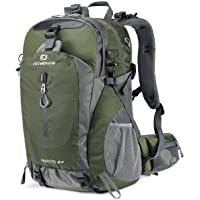 FENGDONG 40L Waterproof Hiking Backpack, Lightweight Resistant Travel Hiking Camping Outdoor Casual Daypack Backpacks…