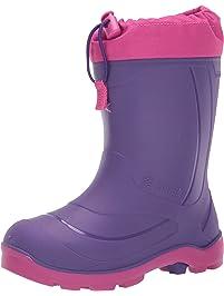Kamik Kid's Waterproof Rubber Snobuster1 All Season Boots