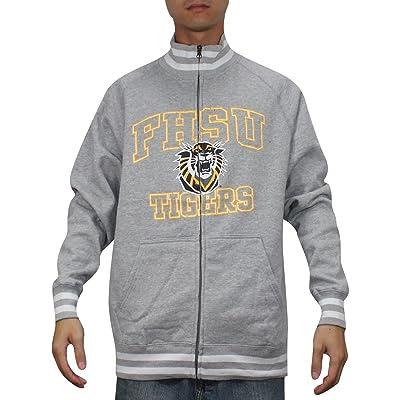 Fort Hays State Tigers Mens MIAA Athletic Zip-Up Jacket (Vintage Look)