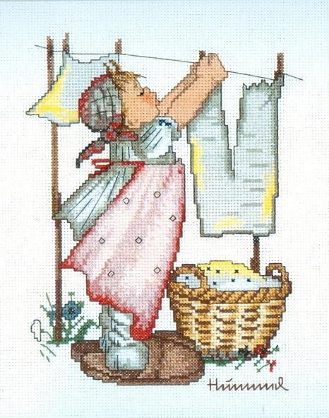 Wash Day Cross Stitch Kit