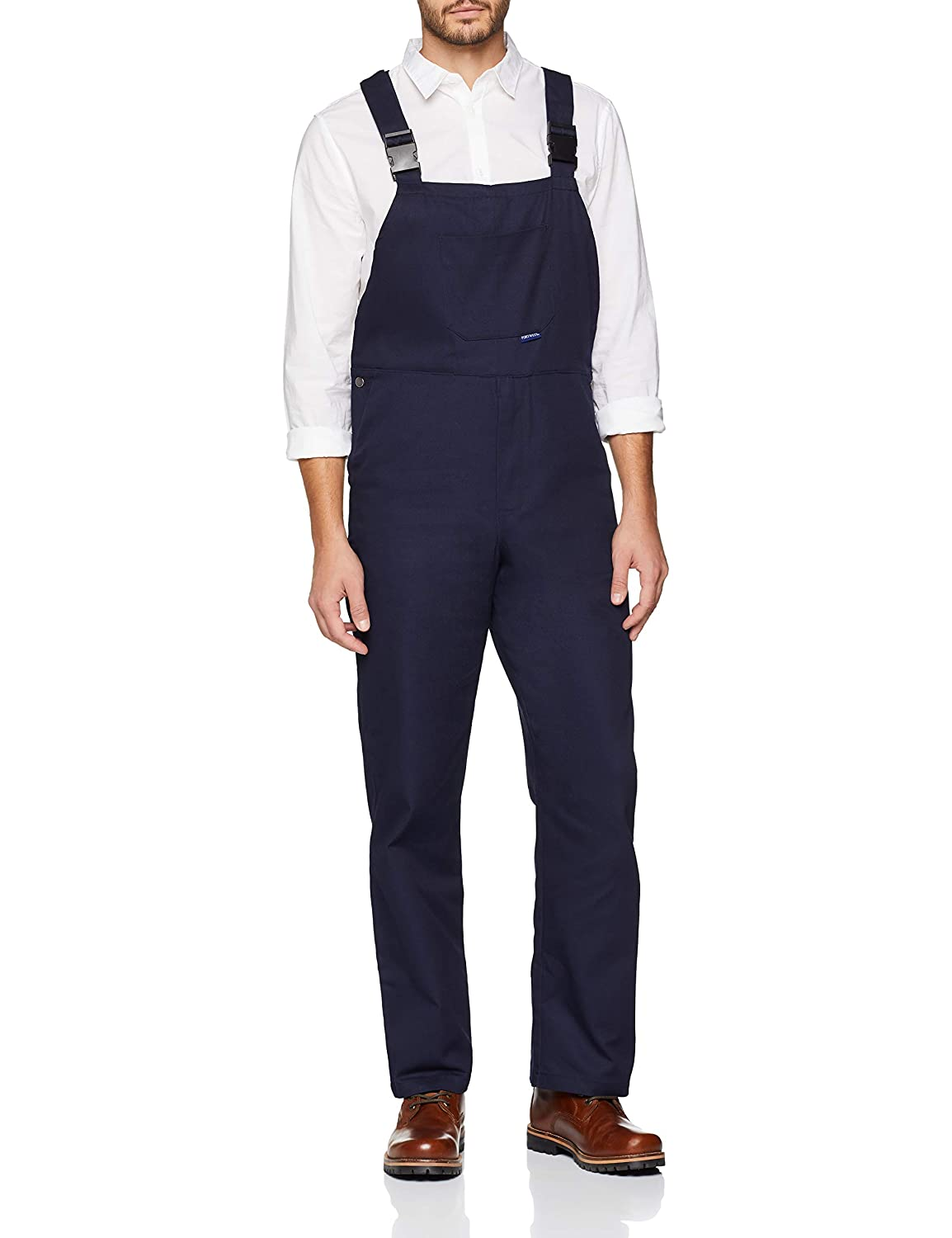 Engineers Bib & Brace Trousers Dungarees Work Workwear Student S - 4XL C881 oxC881