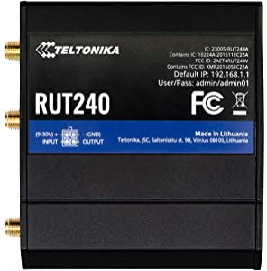 Teltonika RUT240 3G 4G LTE MiFi Router (US Version)