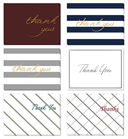 amazon com 48 count floral thank you cards set with envelopes