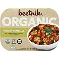 Beetnik Foods Organic Gf Chicken Meatballs, 11.5 Oz (Pack Of 08)