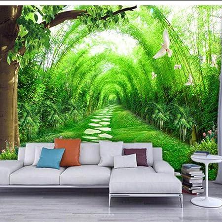 Custom 3d Wall Murals Wallpaper Living Room Tv Background Straw
