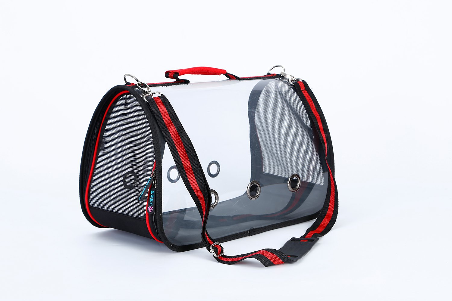 L Elfin's Pocket New Design Full Transparent Pet Carrier Pet bags for Dogs and Cats (L)