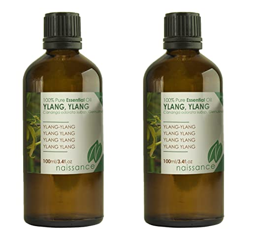 2 opinioni per Naissance Olio di Ylang Ylang- Olio Essenziale Puro al 100%- 200ml (2x100ml)